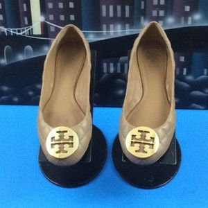 TORY BURCH LEATHER  LOAFERS SZ 8